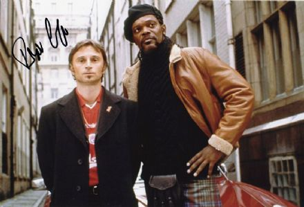 Robert Carlyle, The 51st State, signed 12x8 inch photo.